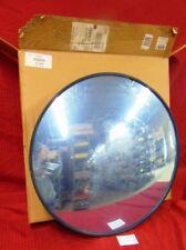 """Indoor Convex Mirror, 1Cyx6 Security Mirror 26"""" Diameter, Acrylic, Film Still On"""