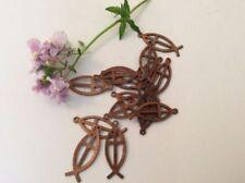 Brass Brown Jewellery Making Charms & Pendants