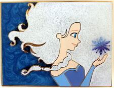 ELSA - FROZEN - JUMBO PIN & LITHOGRAPH - ACME ARTIST SERIES - LICENSED BY DISNEY