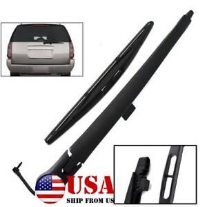 Set For Chevrolet Suburban 1500 2500 Tahoe 07-14 Rear Windshield Wiper Arm Blade