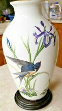 Meadowland Bird Vase By Basil Ede 1980 Franklin Porcelain