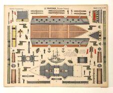 Pellerin Imagerie D'Epinal-No 376 Le Marengo Grande Construction paper model