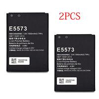2Pcs Battery For Huawei E5573s-606 E5573s-806 E5573-852 E5573-853 HB434666RBC
