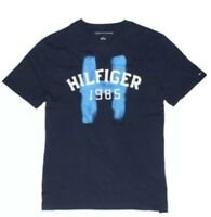 NWT Tommy Hilfiger Men's Embroidered Graphic Tee Navy Size 2XL