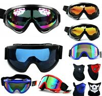Skibrille UV400 Snowboard Rodel Brille Anti Fog Verspiegelt Damen Herren S2 S3