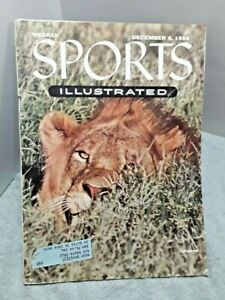 Sports Illustrated December 6 1954 Army Navy Football Maurice Richard Skiing