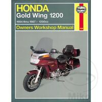 Honda GL 1200 D Goldwing 1985-1986 Haynes Service Repair Manual 2199