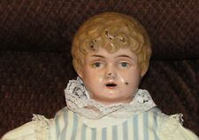 Girl Doll--c1890--Tin Head and Shoulders---cloth body--Minerva