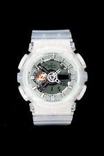 G-SHOCK GA110CR Men's Analog Digital Transparent White Resin Strap Watch