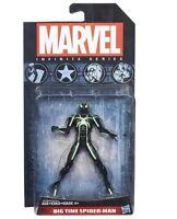 """MARVEL INFINITE FIGURE BIG TIME SPIDER-MAN HASBRO """" NUEVA """" NEW & SEALED"""