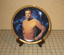 Star Trek Kirk 25th Anniversary 1991 Collector Plate #2555I Hamilton Collection
