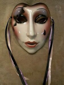 CLAY ART San Francisco Wall Hanging Mask About Face