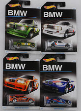 Bmw aniversario set 4 PCs/2002 e36 m3 gt2 e30 1:64 Hot Wheels