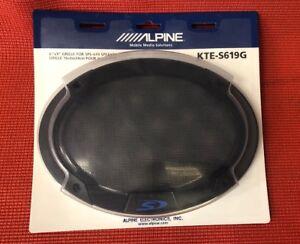"Alpine KTE-S619G 6x9"" Type-S Speaker Grill"