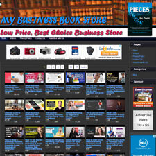 Business Book Store Profitable Online Affiliate Home Business Website For Sale