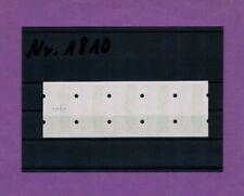 In der Bundesdruckerei total verdruckte senkrechte Zählnummer im Fünferstreifen