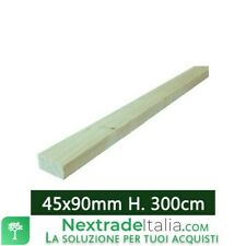 1PZ Tavola in legno liscia montante PERGOLA gazebo giardino morale 45x90 H 300