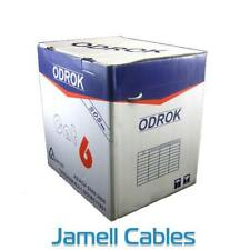 Odrok LC63 CAT6 LAN Cable Yellow (ACMA Approved) 305m Pull Pack