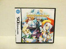 Luminous Arc Nintendo DS Replacement Case & Artwork - NO GAME INCLUDED