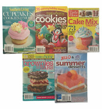 Baking Desserts Cookbook Lot of 5 Booklets CheckOut Variety Summer Christmas EUC