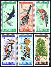Hungary 1746-1751, MNH. Birds, 1966
