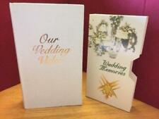 Our Wedding Video - Ivory White Box Case w/ Cardboard VHS Cover New Anniversary