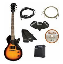 Maestro Gibson Electric Guitar Kit Starter Pack Vintage Sunburst with Amp Bag