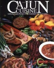 Cajun Cuisine: Authentic Cajun Recipes from Louisiana's Bayou Country-ExLibrary