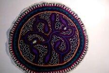 Shipibo Tribal Shaman Textile - Unique, handmade in Peru - Sacred Art Ayahuasca