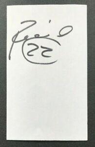 NICK RIMANDO MLS Real Salt Lake Team USA Auto Autographed Signed 3x5 Index Card