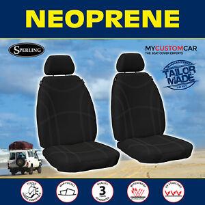 Mitsubishi ASX (XA, XB, XC) 2010-on Neoprene FRONT Seat Covers Waterproof Car
