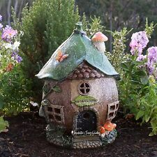 Solar Fairy House - Fairy Dust Merchant - Fairy Garden