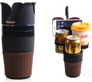 Phone Glasses Key Coins Drink Bottle Cup Holder Stand Storage Case Car Organizer