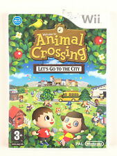 Animal Crossing Let's Go to the City Wii / Jeu Nintendo Sans Notice