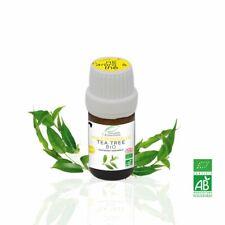 Huile Essentielle BIO Arbre à thé 5ml. ABLabel, Ecocert Bio 100 % Pure.