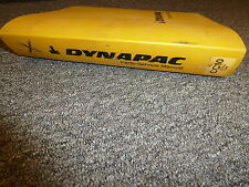 Dynapac CC10 Vibratory Compactor Parts Catalog Owner Service Repair Manual Book