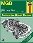 Mgb Automotive Repair Manual : All Models of the Mgb Roadster and Gt Coupe Wi...