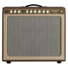 """Tone King Imperial MKII 20W 1x12"""" Tube Amp Combo Guitar Amplifier Brown Beige"""