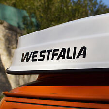 2X VW WESTFALIA LOGO 18 INCHES sticker vinyl decal