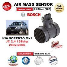 FOR KIA SORENTO Mk I JC 2.4 139bhp 2002-2006 AIR MASS SENSOR 5 PIN with HOUSING