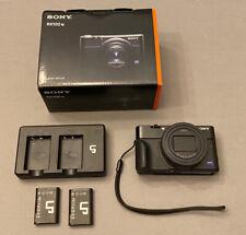 Sony Cyber-shot DSC-RX100 VII - 20.1MP Point & Shoot Digital Camera - Black