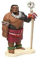 "Disney Moana Father Cheif Tui Cake Topper Action Loose PVC Figure 4"" Figurine"