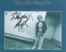 Blondie Chaplin Signed Autographed 8x10 Photo The Beach Boys Rolling Stones COA