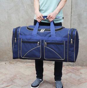 60L Handbag Shoulder Bag Travel Gym Luggage Bag Large Capacity duffle bag canvas