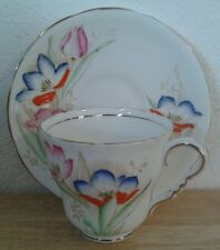 Royal Stafford Bone China Tea Cup and Saucer~Vintage~numbered