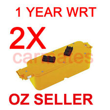 2X Battery For iRobot Roomba 400 14.4V 3.0Ah Ni-MH 4100 4212 4230 4250 4260 1YW
