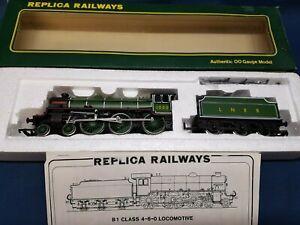 REPLICA RAILWAY 11012 LNER GREEN 4-6-0 B1 CLASS SPRINGBOK NEW UNUSED MINT BOXED