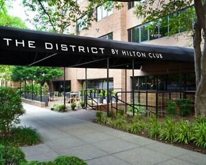 HILTON GRAND VACATIONS CLUB, THE DISTRICT, ANNUAL YEAR, 3,750 POINTS, TIMESHARE