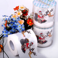 Santa Claus Xmas Home Household Supplies Toilet Paper Roll Living Room Hot
