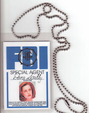 Agent Dana Scully Xfiles X-Files novelty BADGE ID card Identification Card chain